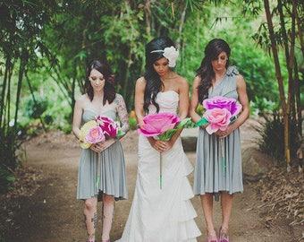 Reserved listing for Alyssa-2 Short Lovers Dusty Lavender Dresses (Listing 2 of 2) 6 dress total