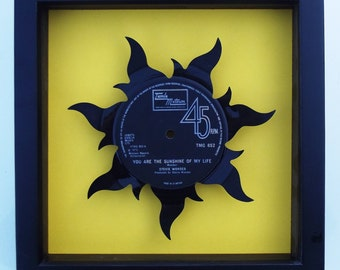 Stevie Wonder You Are The Sunshine Of My Life Vinyl Record Art