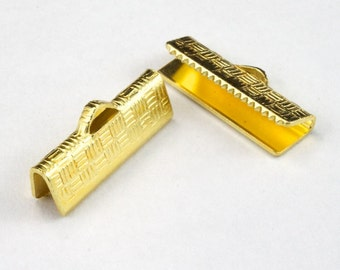 6/8 Inch Gold Tone Bar Clamp #MFE024