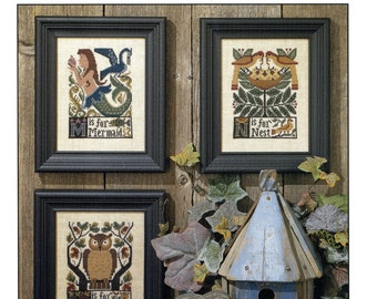 M*N*O by Prairie Schooler Counted Cross Stitch Pattern/Chart