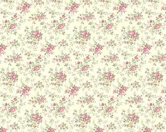 Ruru Bouquet Prima  Tiny Rose Bouquets  Cotton Fabric Rose ru2260-17A