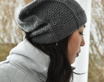 Rachel Hat - Medium Gray