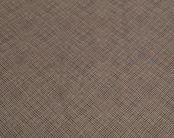 Perfectly Seasoned-Brown Hatch-Cotton Fabric from Sandy Gervais for Moda Fabrics