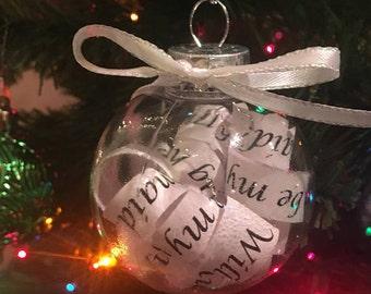 Will You Be My ... Bridal Party Ornaments