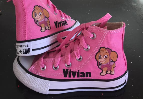 Paw Patrol Shoes Custom High Top Converse Infant And