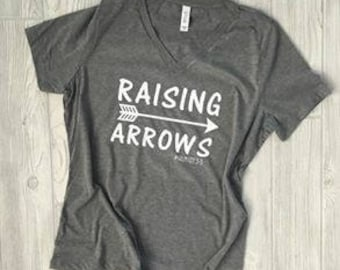 Raising Arrows Momma Tee, MOMLIFE, Mom Tee, Mama Shirt