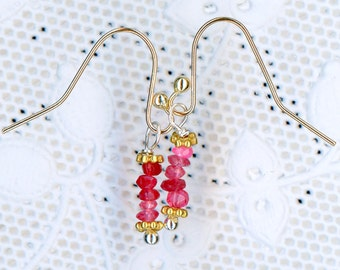 Petite Winza Ruby with Solid Gold
