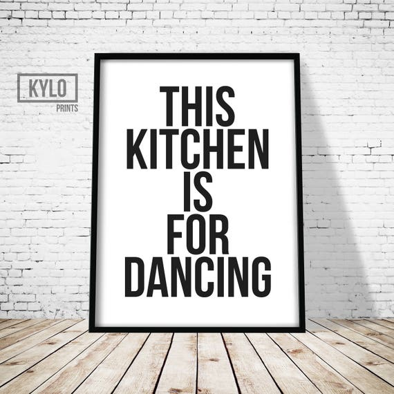 Kitchen Art Printables Collection Sale Instant Download: Kitchen Print Printable Art Typography Print Wall Art