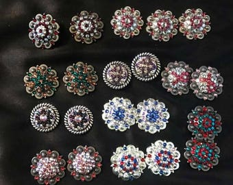 Blinged conchos