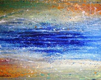 Oil on canvas paint - Fantasy
