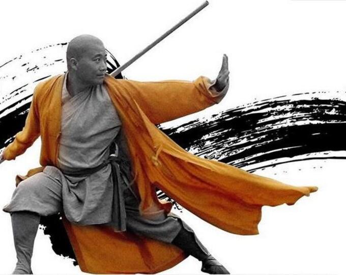 wushu Stick - Kung fu Stick -  fighting stick - bojutsu - martial arts  Bushido - stick
