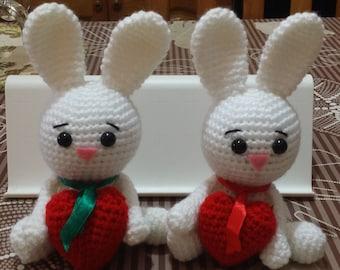 Bunny Valentine's Day | Amigurumi