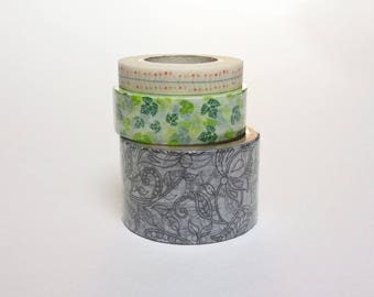 masking tape * vegetable pattern choice * 5 or 10 meters