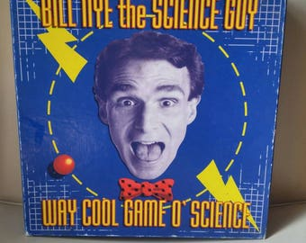 Bill Nye the Science Guy Way Cool Game O' Science / board game / educational / biology / chemistry / physics / education / learning / fun
