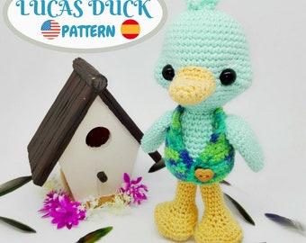 Amigurumi Duck PATTERN - Crochet Duck Pattern - Amigurumi Pattern - PDF Tutorial