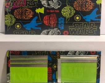 Star Wars Duct Tape Bifold Wallet