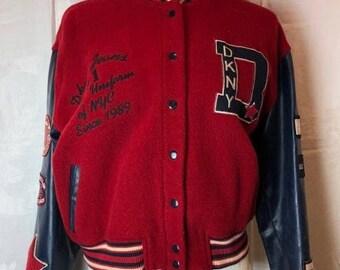406. SOLD - DKNY JEANS - Varsity Jacket