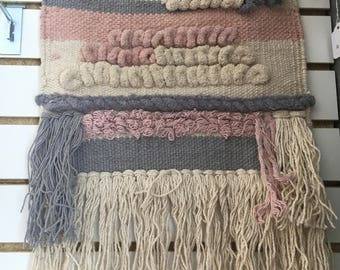 Cotton weave tapestry