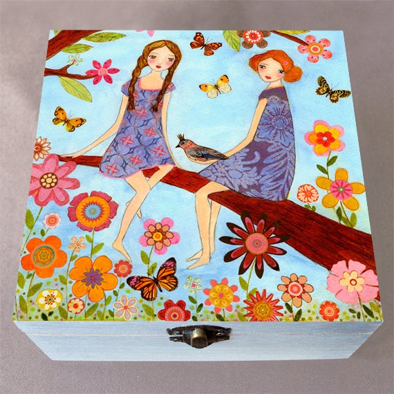 Jewelry Box Sister Jewelry Box Best Friend Jewelry Box