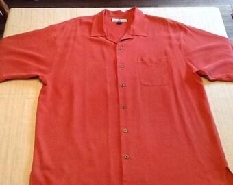 Tommy Bahama silk shirt....
