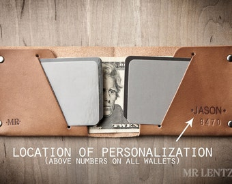 Personalized Wallet, Personalized Groomsmen Wallets, monogram Wallet, Groomsmen Gift Wallet, Handmade Leather Wallet 012