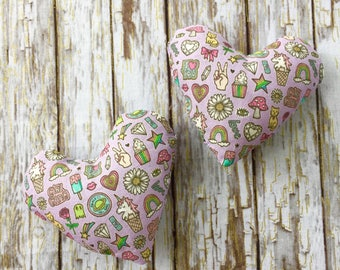 Girl Gang Catnip Heart Toy for Cats and Kittens