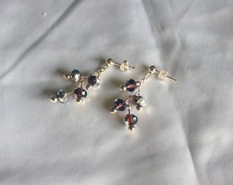 Crystal Berry Earrings