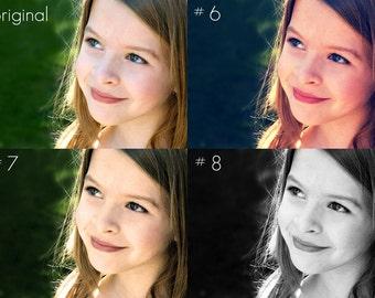 11 Photoshop Actions - Set 2