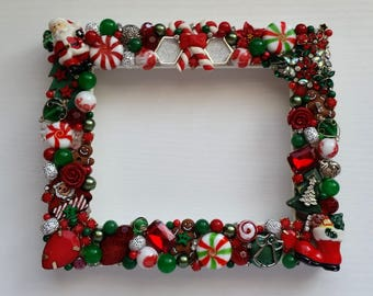 Christmas Themed Picture Frame 4x5 Inch