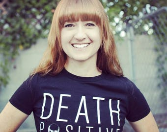 "5X ""Death Positive"" Unisex Shirt Order of the Good Death"