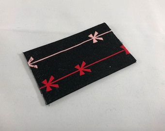 Card Wallet - Gift Card Holder - Christmas bows