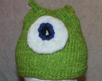 toddler monster hat handmade