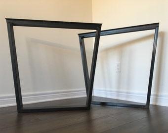 Trapezoid Table Legs   Metal (table Legs, Metal Legs, Diy, Dining Table