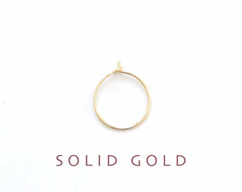 thin SOLID GOLD nose ring, gold nose ring, THIN gold nose hoop, thin nose ring, gold nose hoop, 26g nose hoop, 14k solid gold nose ring
