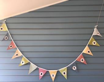 Colourful Birthday bunting