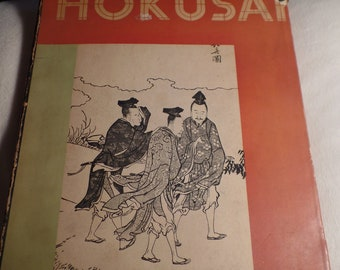 Hokusai by J. Hillier-C. 1955- with 18 Color Plates