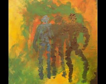 Original  painting  modern acrylic original abstract canvas wall art home decor acrylic canvas modern wall art decor wall art living room