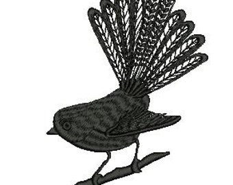 One Colour Fantail Bird