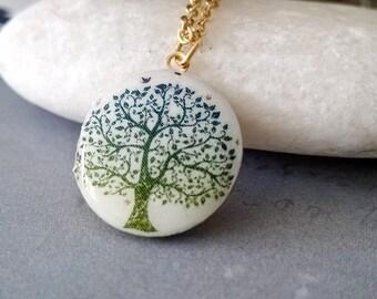 locket,brass locket,gold locket,trend,greeny,medaillon,lebensbaum,tree of life,green,18kgold,mothersday,