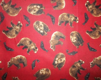 Cabin Fever Cotton Fabric #284