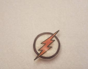 The Flash inspired pin