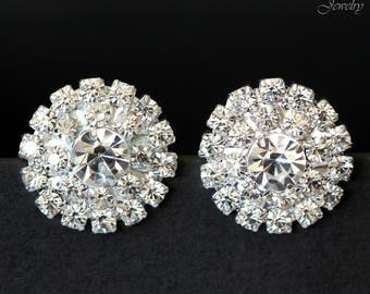 pin statement elegant earrings make rhinestone an these sparkly