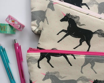 Unicorn Zipper Pouch