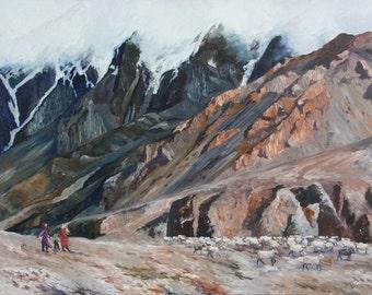 Along the Karakoram