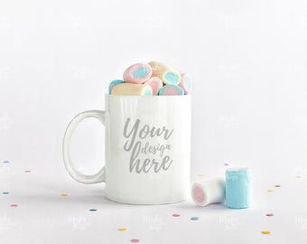 White mug stock photography / Instant download /#6144