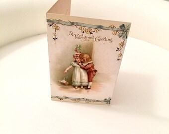 Vintage Valentine Card Antique Valentine Card