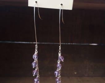 Amethyst Dangle Earrings