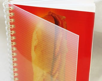 Spiral notebook ' recycled 'it' # sandwich Snack