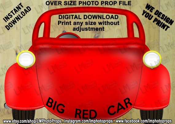 Big Red Car Prop File Wiggles Inspired