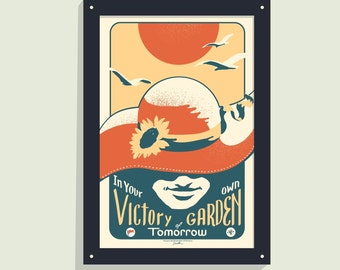 In Your Own VGoT -12x18 screen print poster